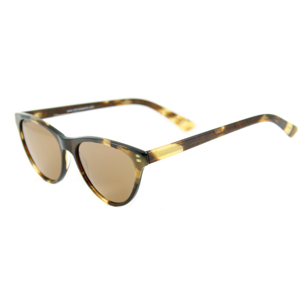 Audrey Cat Eye Sunglasses - Havana