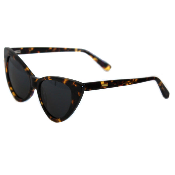 Ava Tortoiseshell sunglasses side
