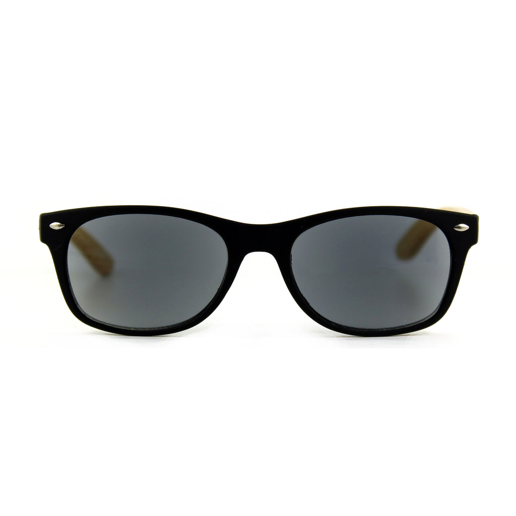Bamboozled Rectangular - Sun Readers  Black