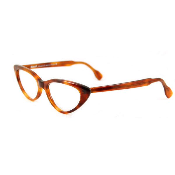 Bardot Cat Eye Glasses - Demi Amber