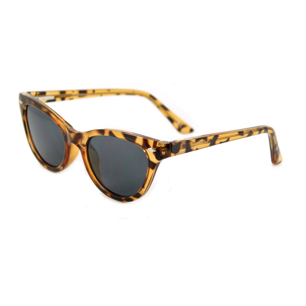 Belle Turtle sunglasses side