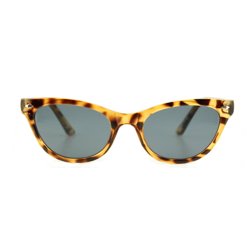 Belle Turtle sunglasses front