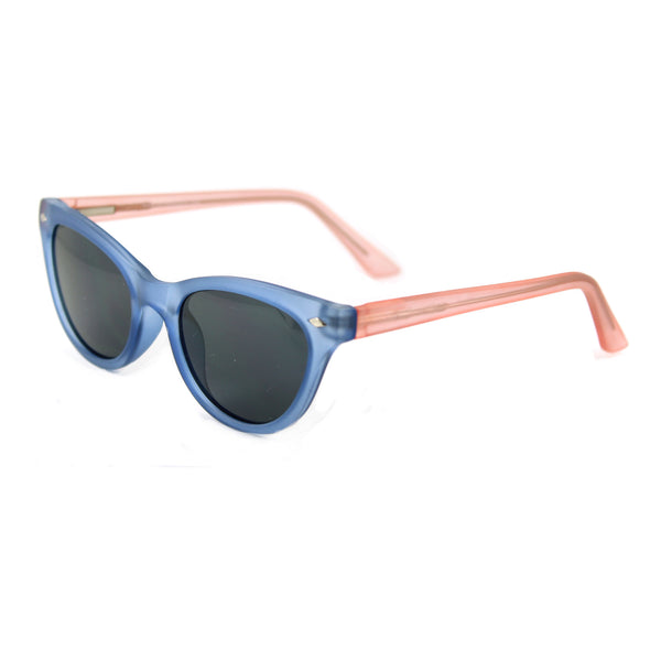 Belle Blue Pink sunglasses side