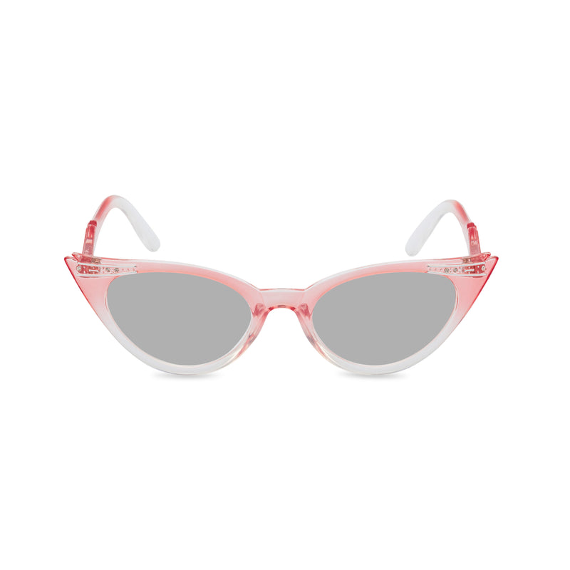 Betty sunglasses pink grey front