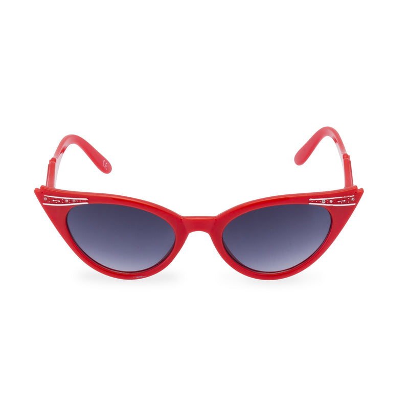 Betty Rockabilly red sunglasses front