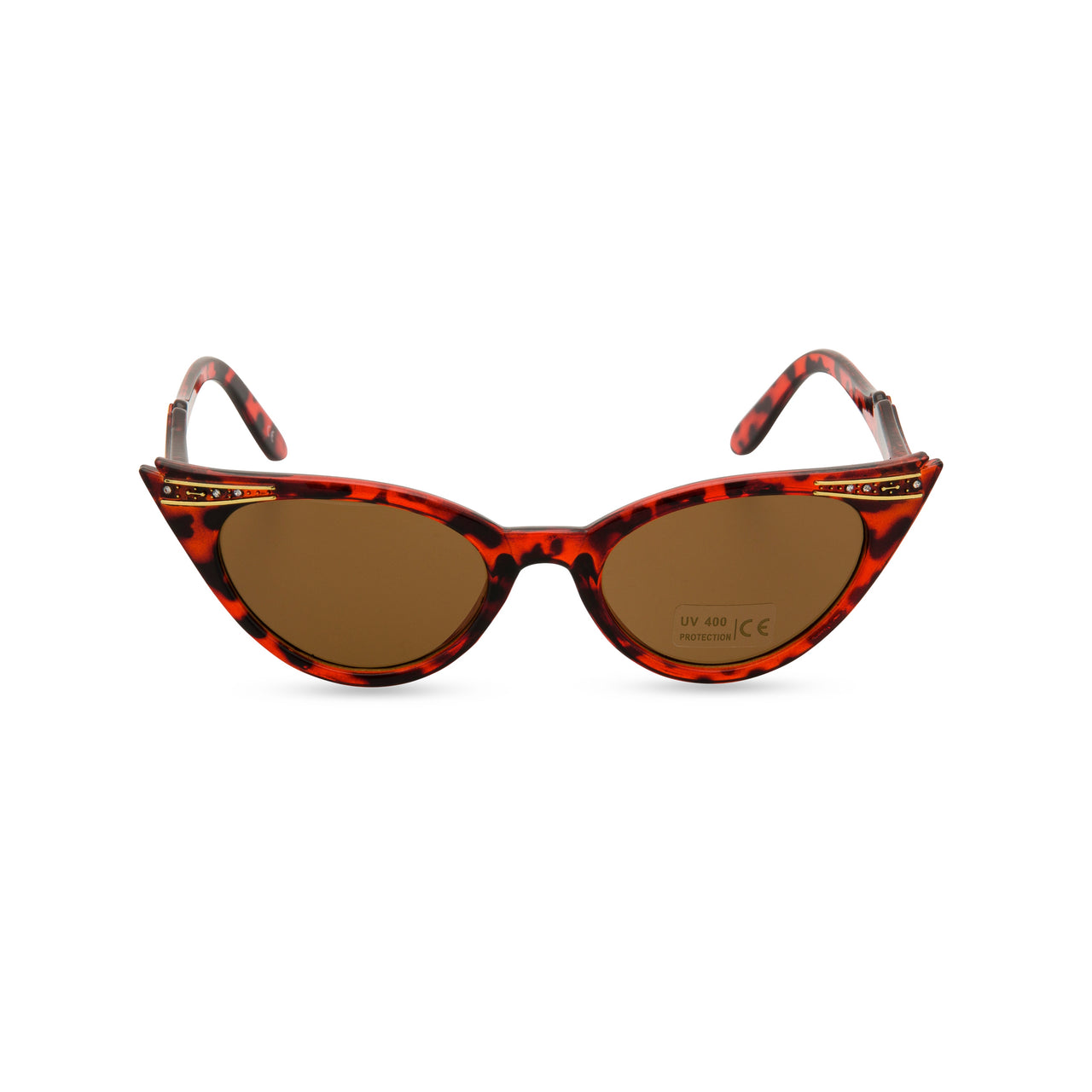 Retropeepers Betty cat eye sunglasses tortoiseshell - front view