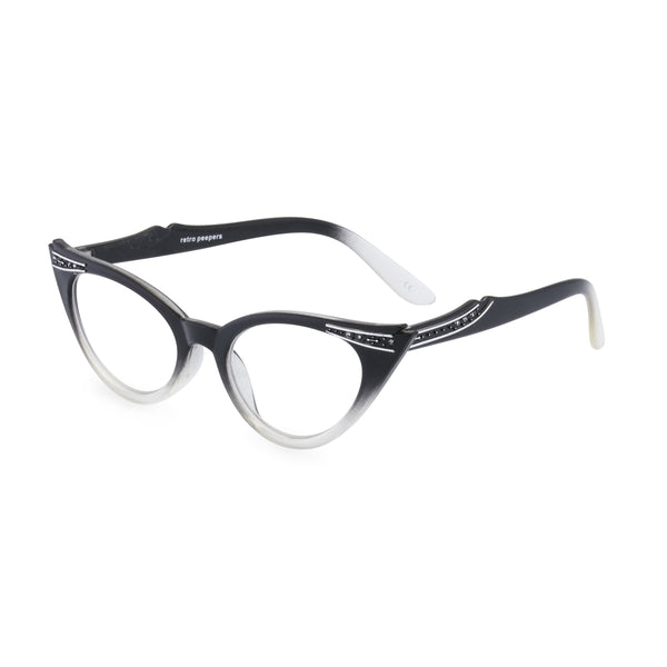 Betty  glasses graduated black side