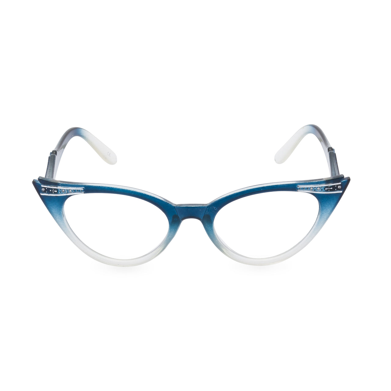 Betty Cat Eye Glasses - Graduated Blue