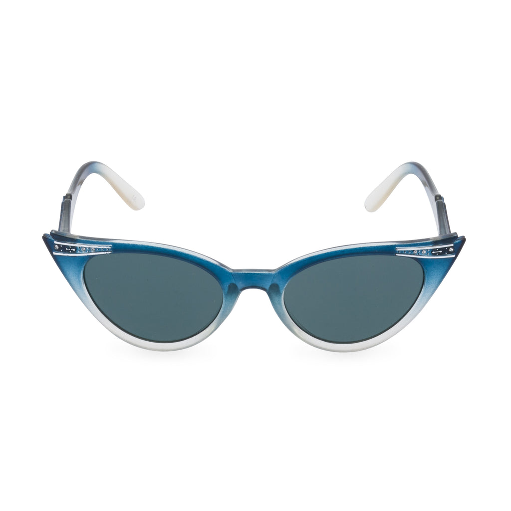 Betty sunglasses graduated blue front