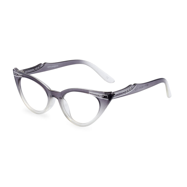 Betty  glasses graduated grey side