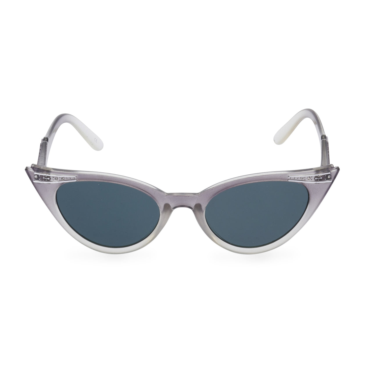 Betty Cat Eye Sunglasses - Graduated Grey Smoke