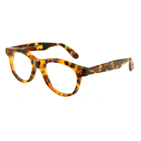 Carey Large Square Glasses - Vintage Tortoise