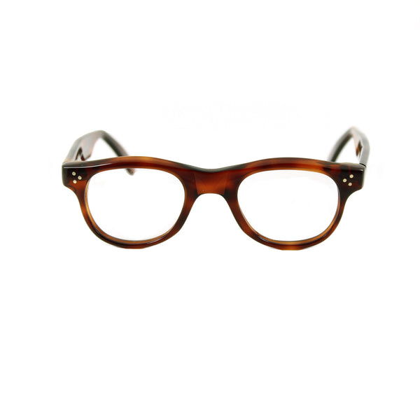 Carey Medium Square Glasses - Demi Tortoiseshell