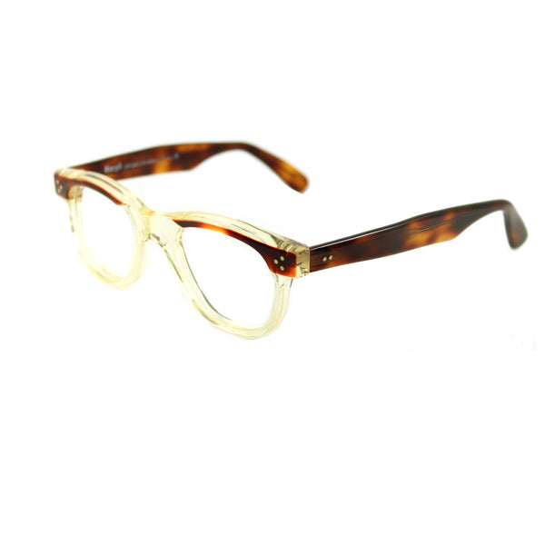 Carey Medium - Crystal / Brown