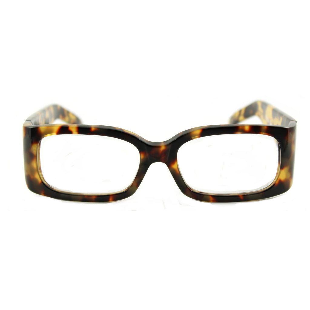 Carla Rectangular Glasses - Tortoiseshell