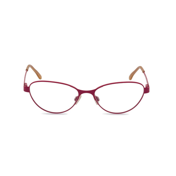 Claudine Cat Eye Glasses - Fuchsia