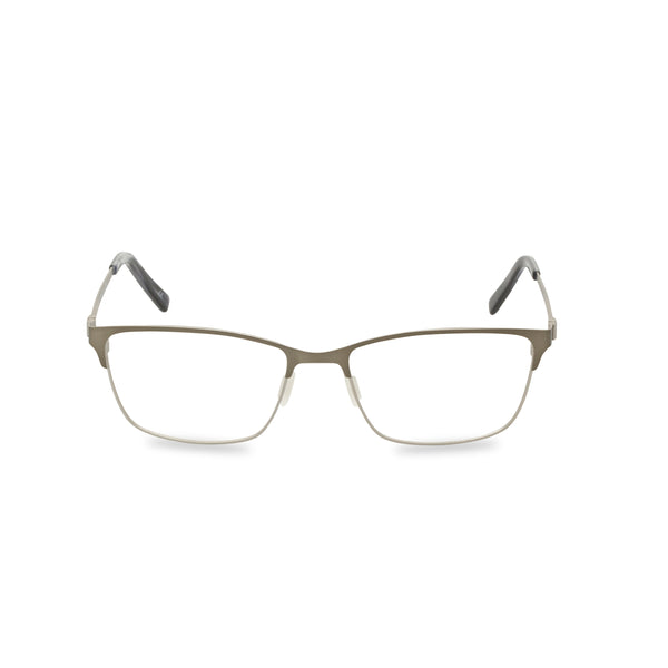 Retropeepers, Clint in Metallic Silver, 50s 60s mens retro style, front view