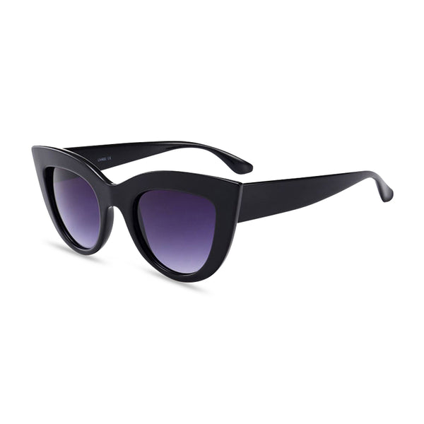 Cool Cat black purple side