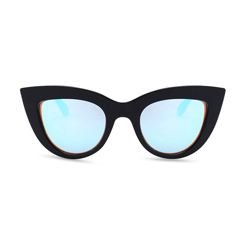 cool cat black blue front