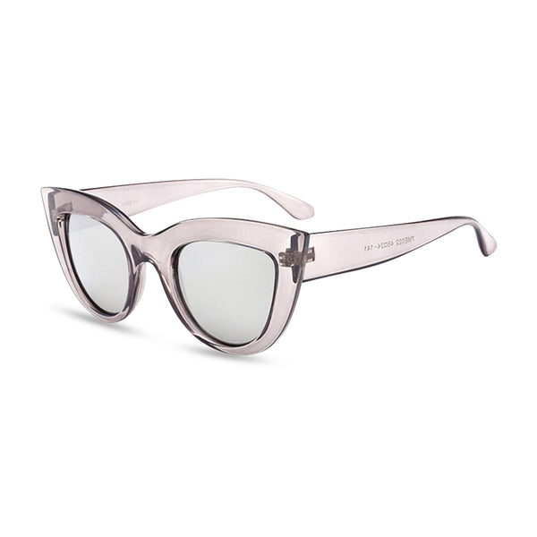 Cool Cat CatEye Sunglasses - Crystal Grey