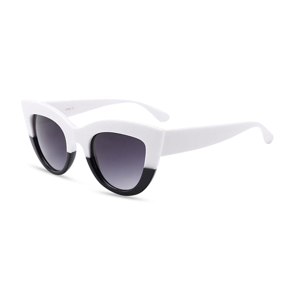 cool cat white black side