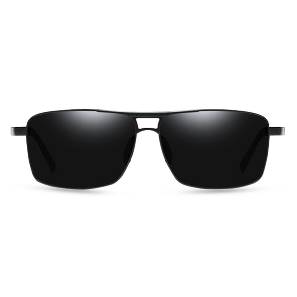 Craig Rectangular Sunglasses - Black