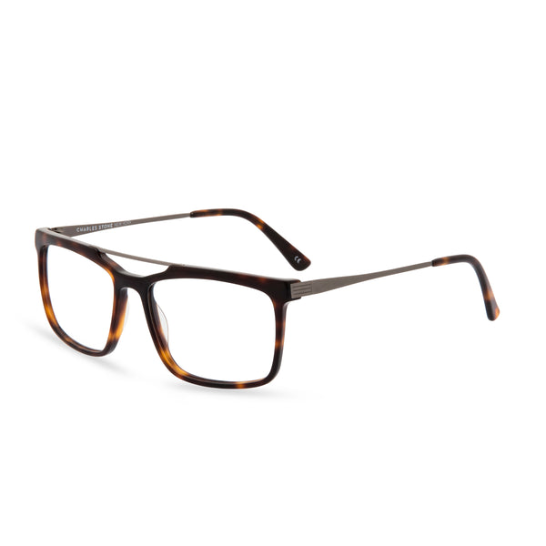 Dexter Rectangular Glasses - Havana