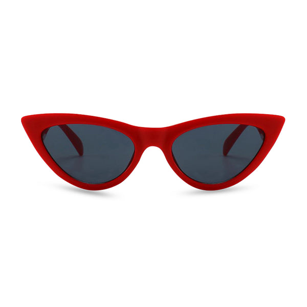 Diana Cat Eye Sunglasses - Red