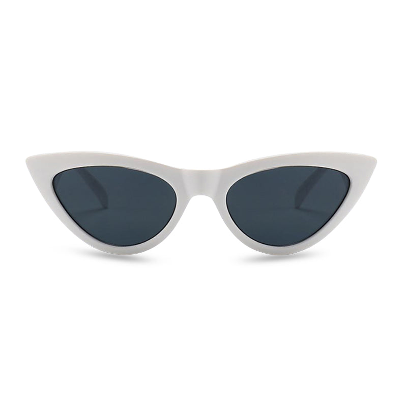 Diana Cat Eye Sunglasses - White