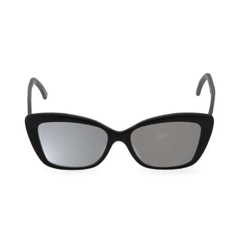 Dominique black sunglasses front