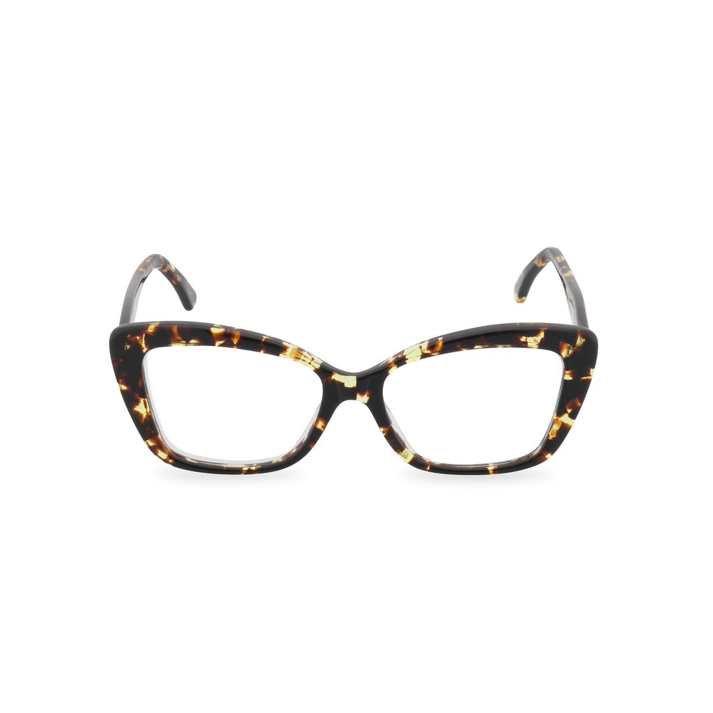 Dominique Cat Eye Glasses - Turtle