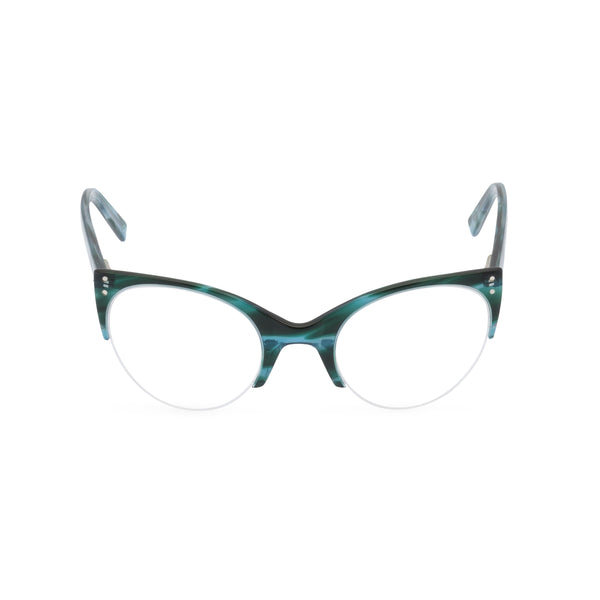 Ella Cat Eye Glasses - Ocean