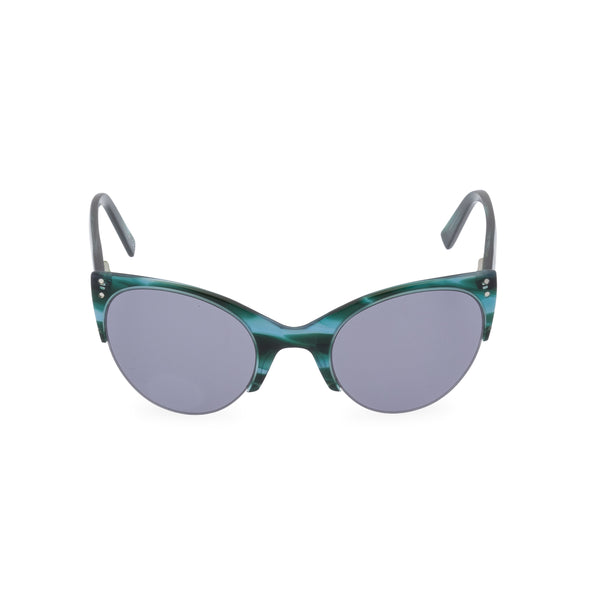 Ella Cat Eye Sunglasses - Ocean