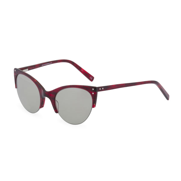 Ella Red Sunglasses side