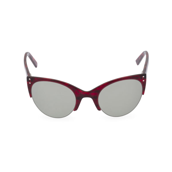 Ella Red Sunglasses front
