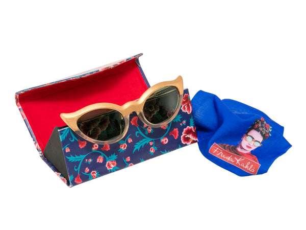 Frida Kahlo Glasses Case - Marigold