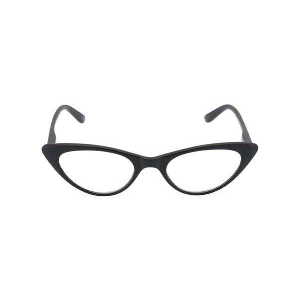 Gidget Cat Eye Glasses - Black