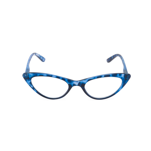 Gidget Cat Eye Glasses - Blue Moon