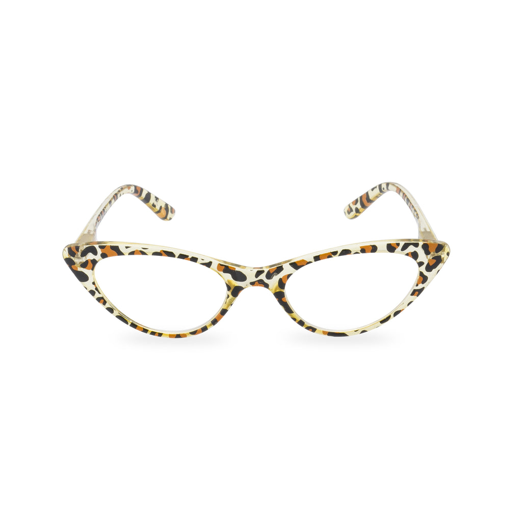 What Did Women Wear in the 1950s? 1950s Fashion Guide Gidget -  Leopard Cat Eye £19.00 AT vintagedancer.com