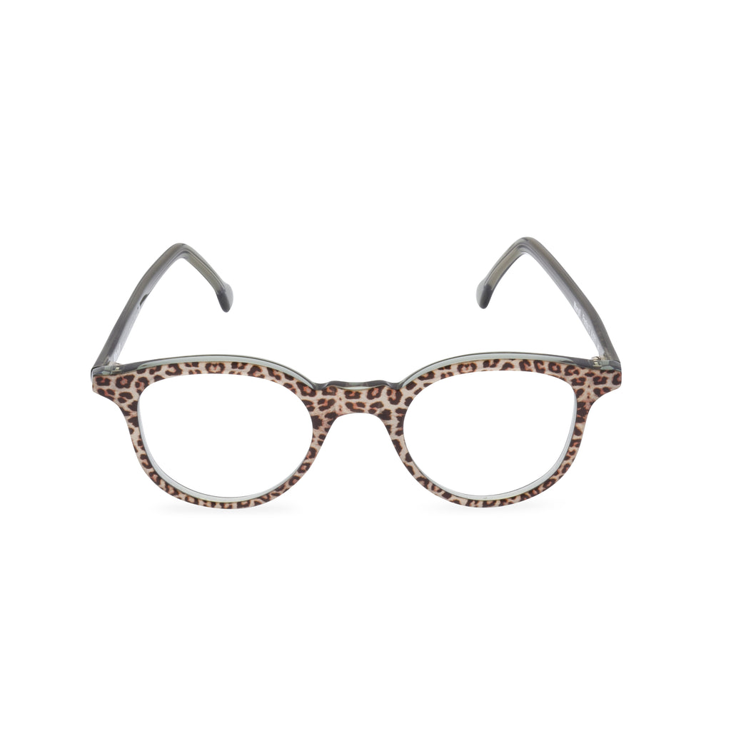 Grace Round Glasses - Jaguar