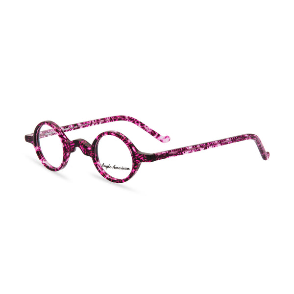 Anglo American Optical 'Groucho' - Round Glasses, Purple Haze