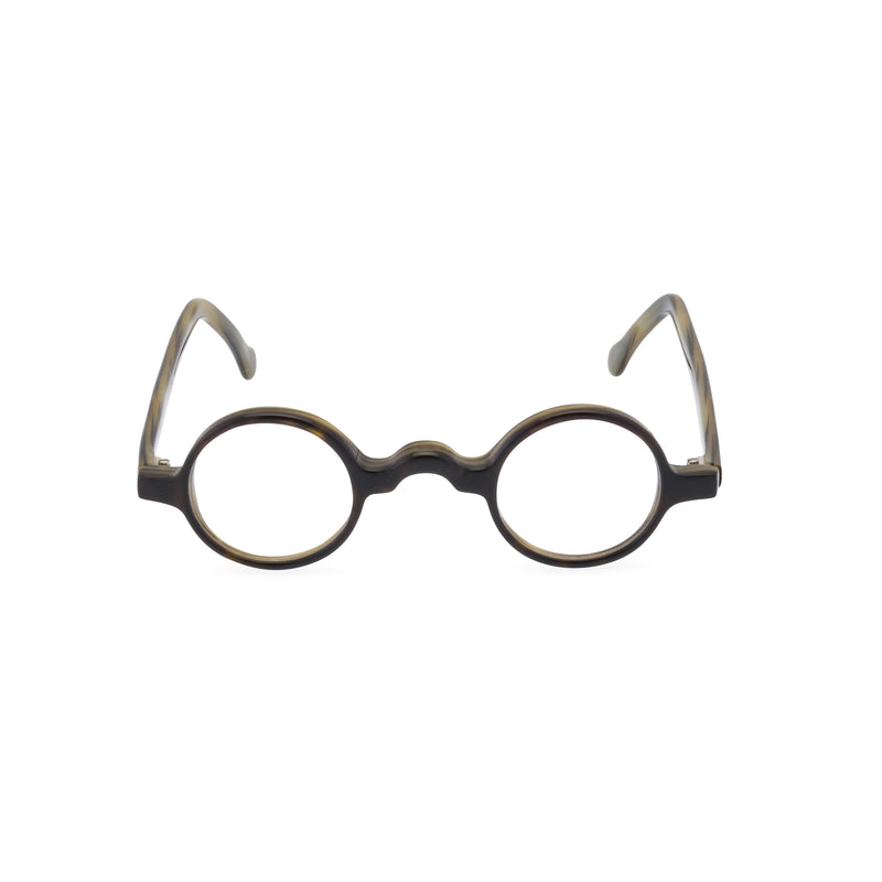 Groucho Round Glasses - Licorice