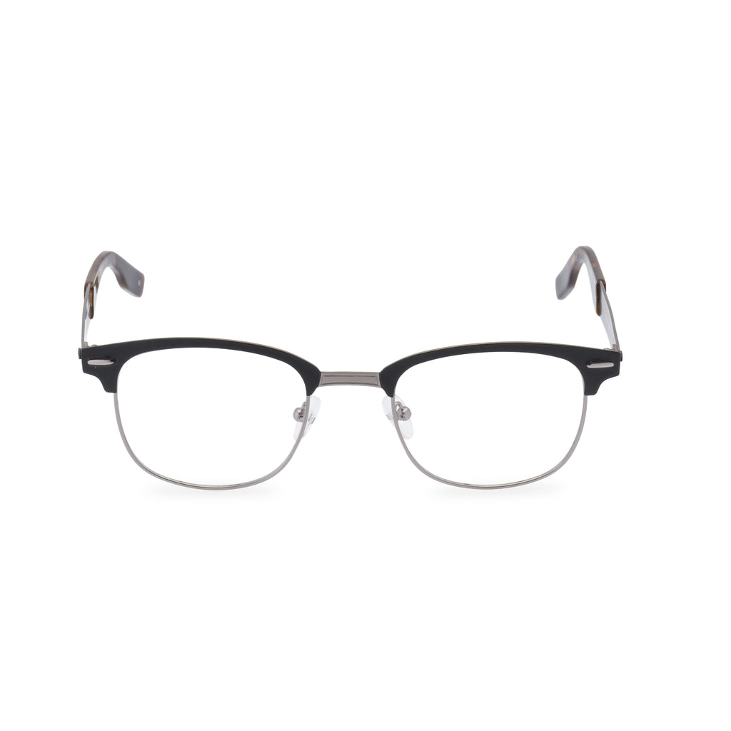Hanson Square Glasses - Gunmetal Black
