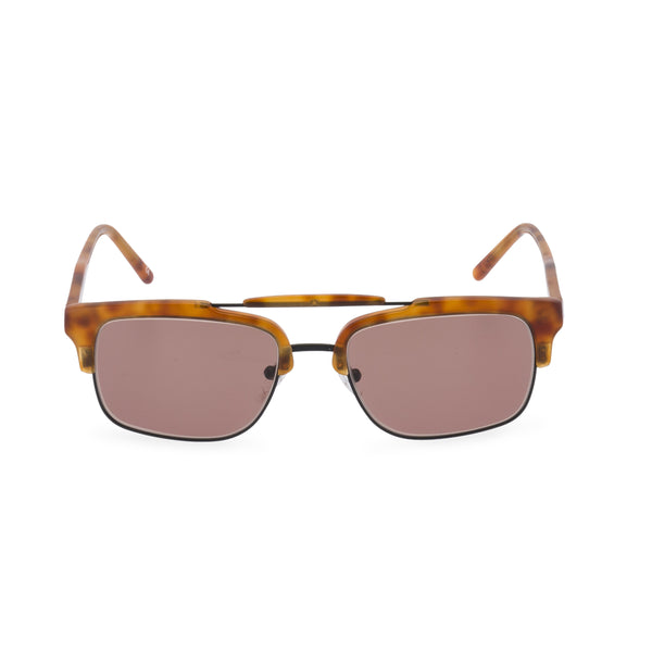 Hedley sunglasses brown lens front