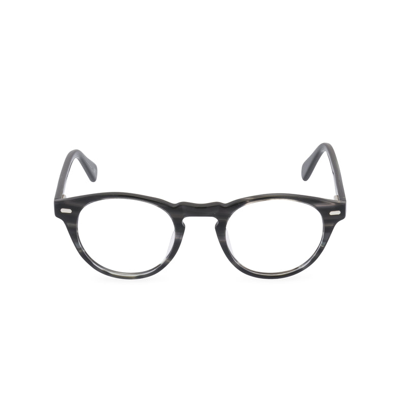 Henry Round Glasses - Lead Grey