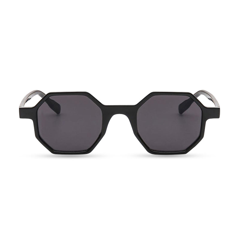 Hexy Round Sunglasses - Black