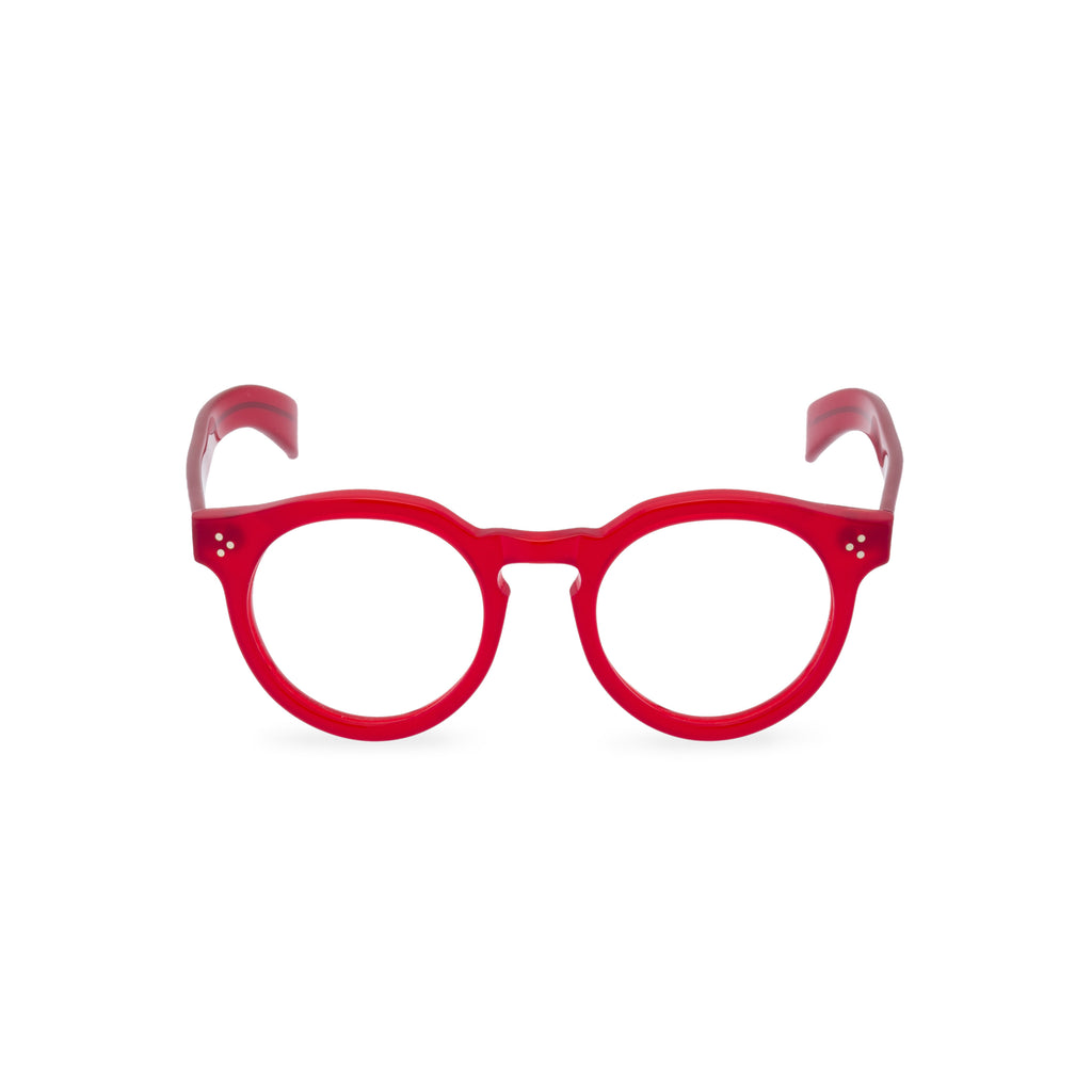Hokum Round Glasses - Ready for Red