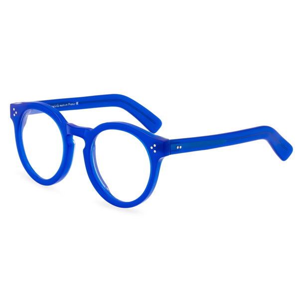Hokum Round Glasses - Indigo Blue