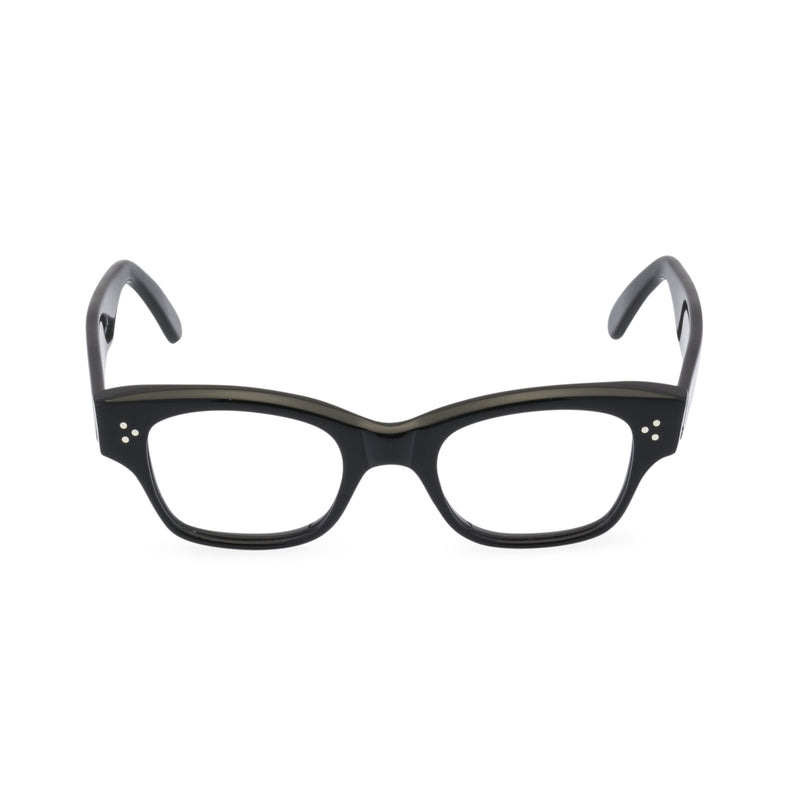 Howard Rectangular Glasses - Black