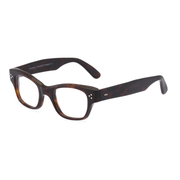 Howard Rectangular Glasses - Deep Tortoiseshell